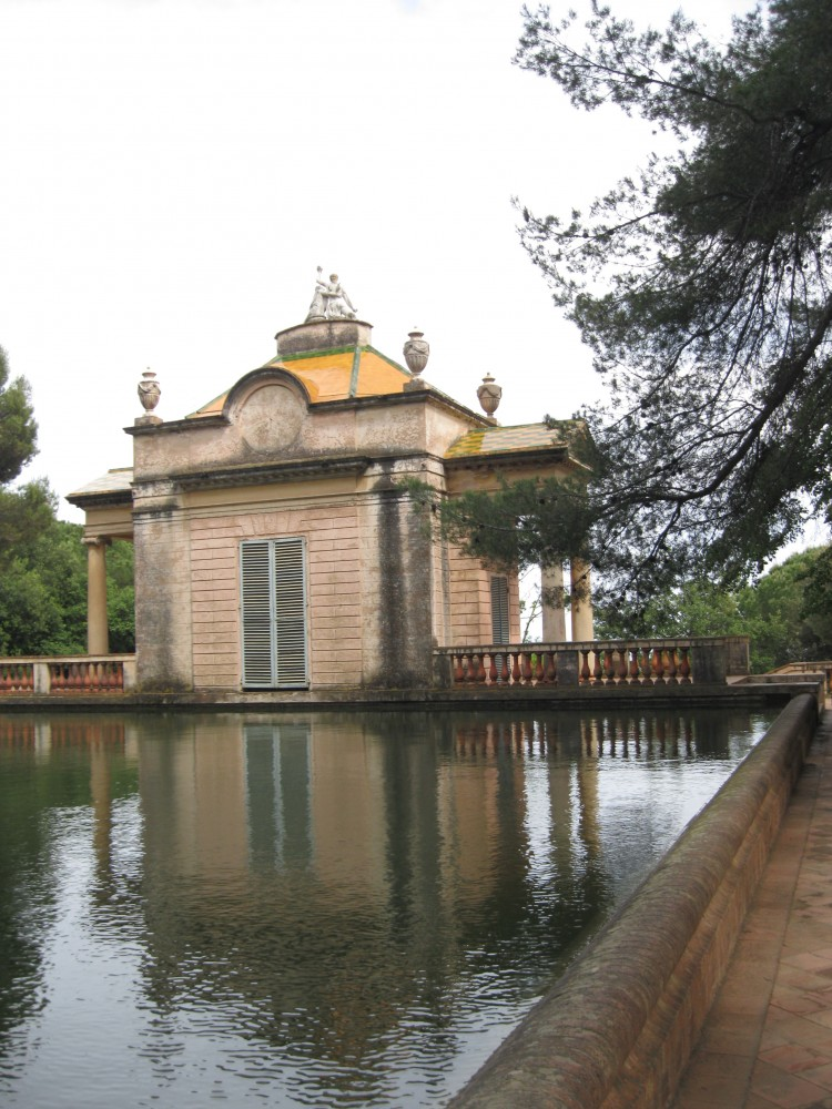 The Pavilion and Water Basin