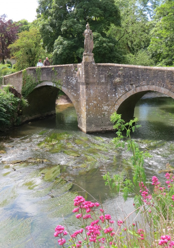 The River Frome and Britannia