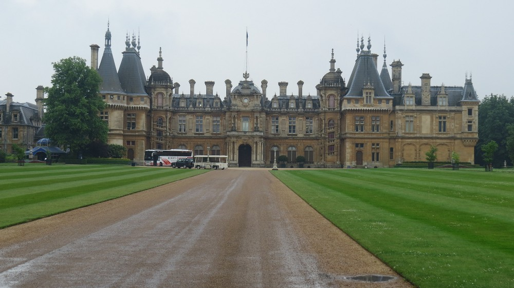 Waddesdon Manor North Front