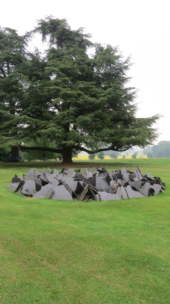 Richard Long's Slate Circle