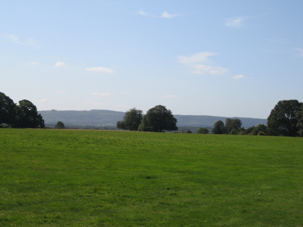 View towards the North Downs