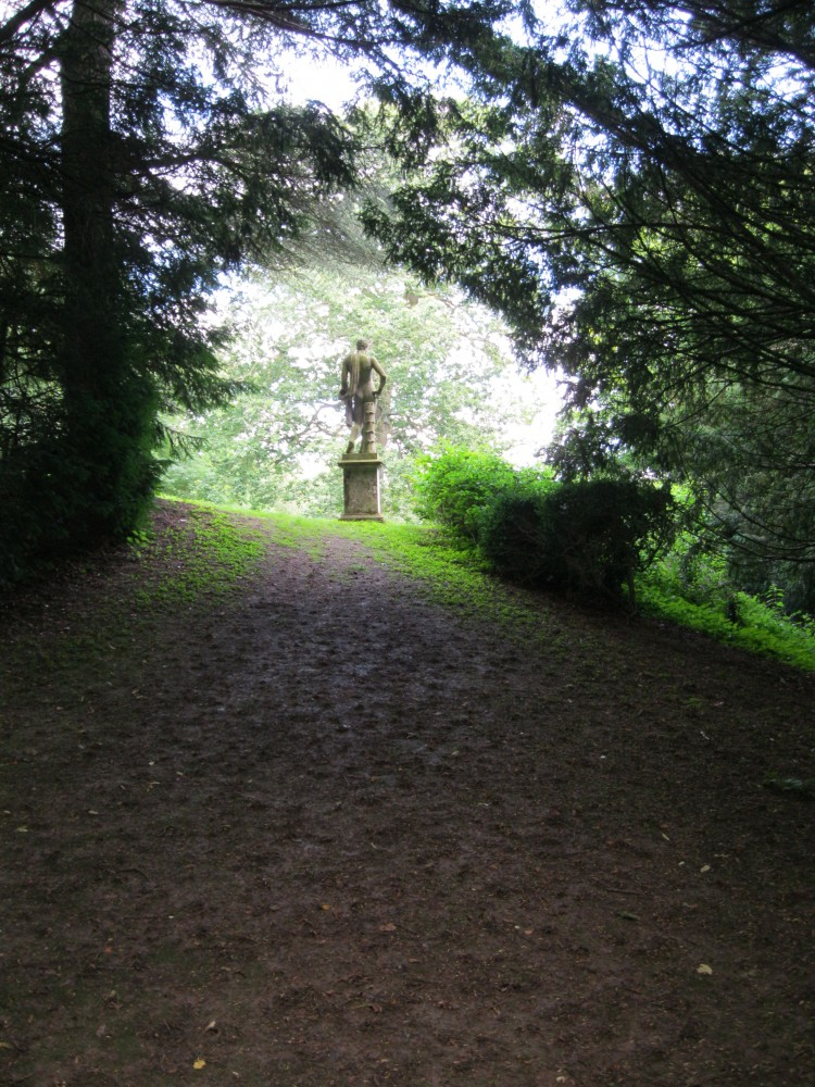 Grove leading to Statue of Apollo