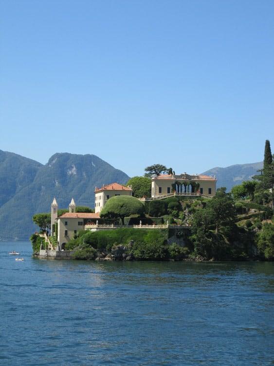Villa del Balbianello from the Como ferry