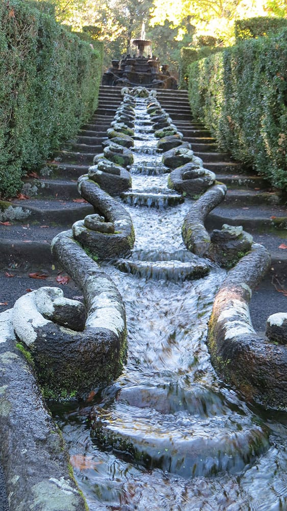 The Water Chain Cascade