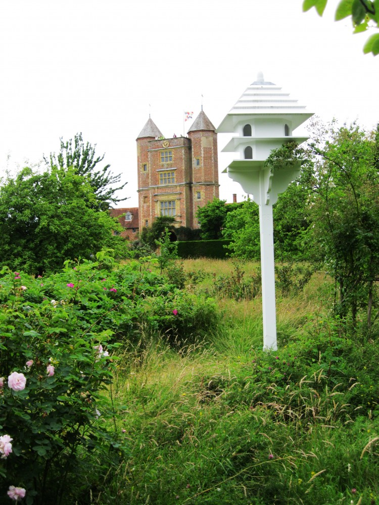 Sissinghurst Castle tower from the Orchard