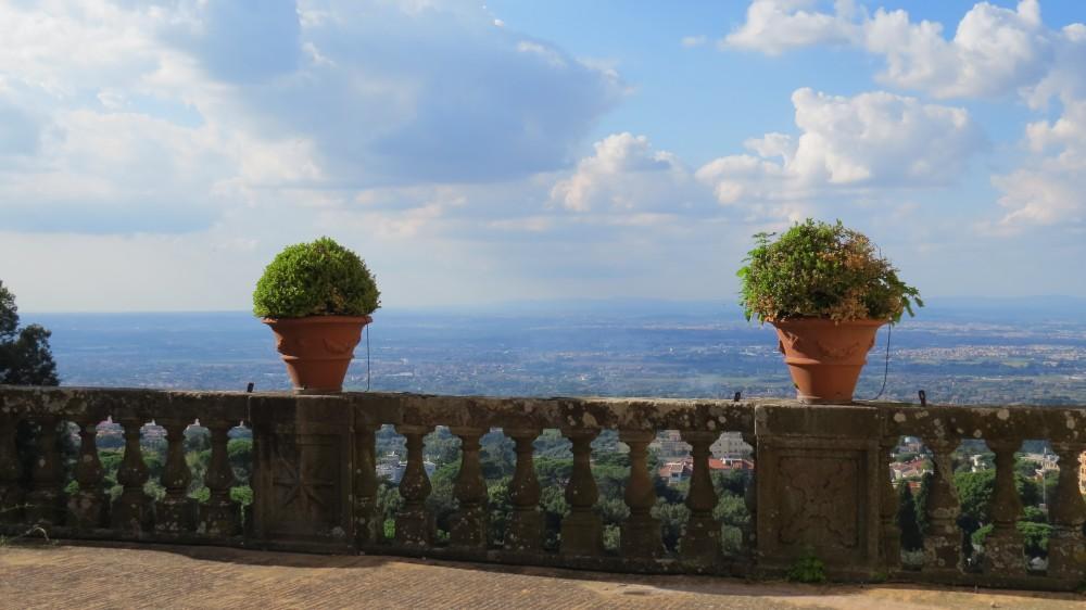 View towards Rome