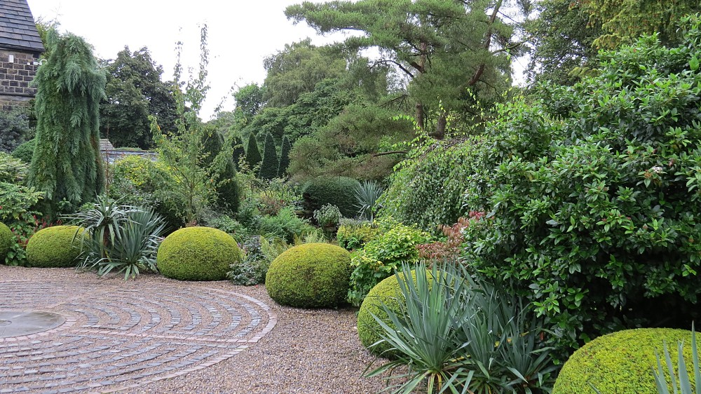 The Driveway and Granite Sett Labyrinth