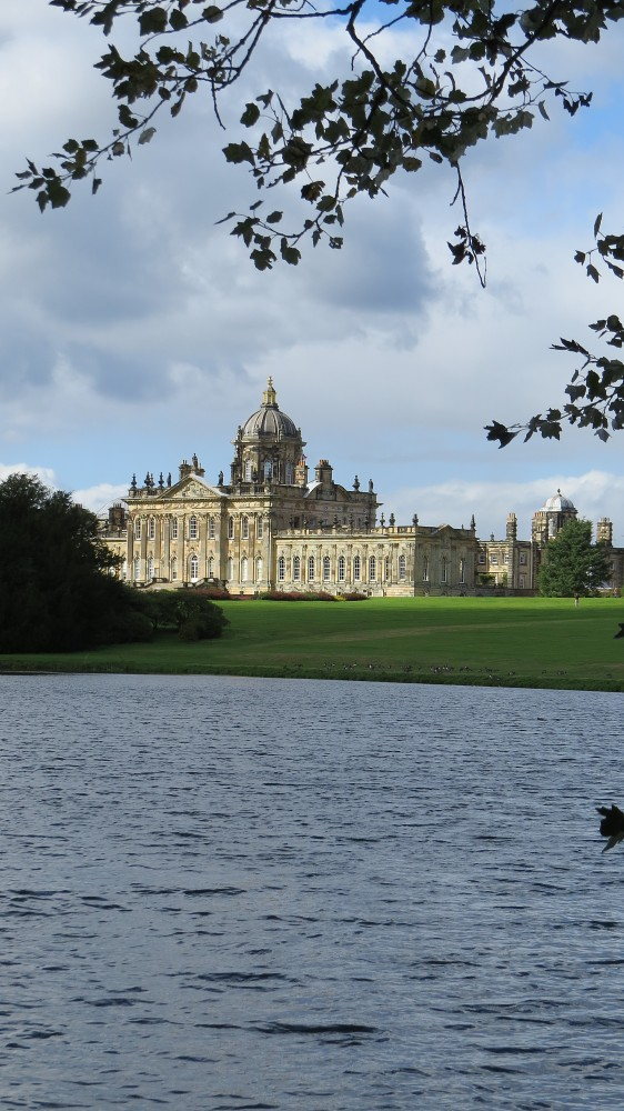 Castle Howard viewed over the South Lake
