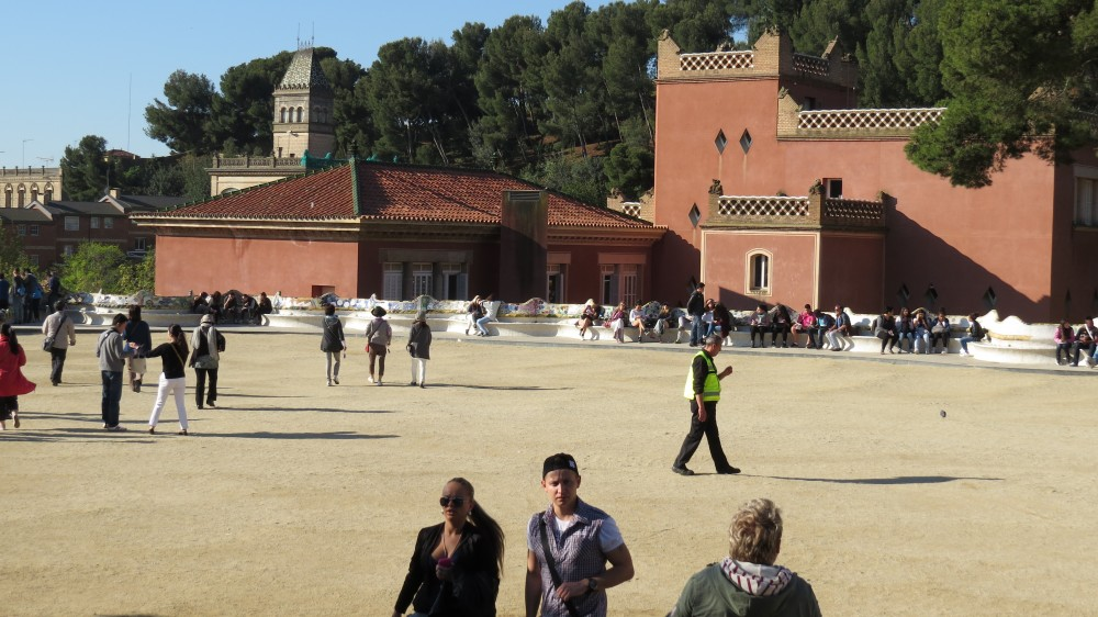 The Esplanade and Guell's House