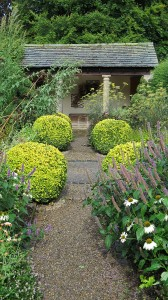 The Herb Garden and Summer House