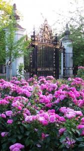 Gates to Queen Mary's Rose Garden