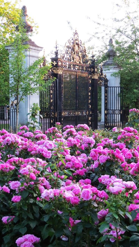 Gates to Queen Mary's Rose Garden
