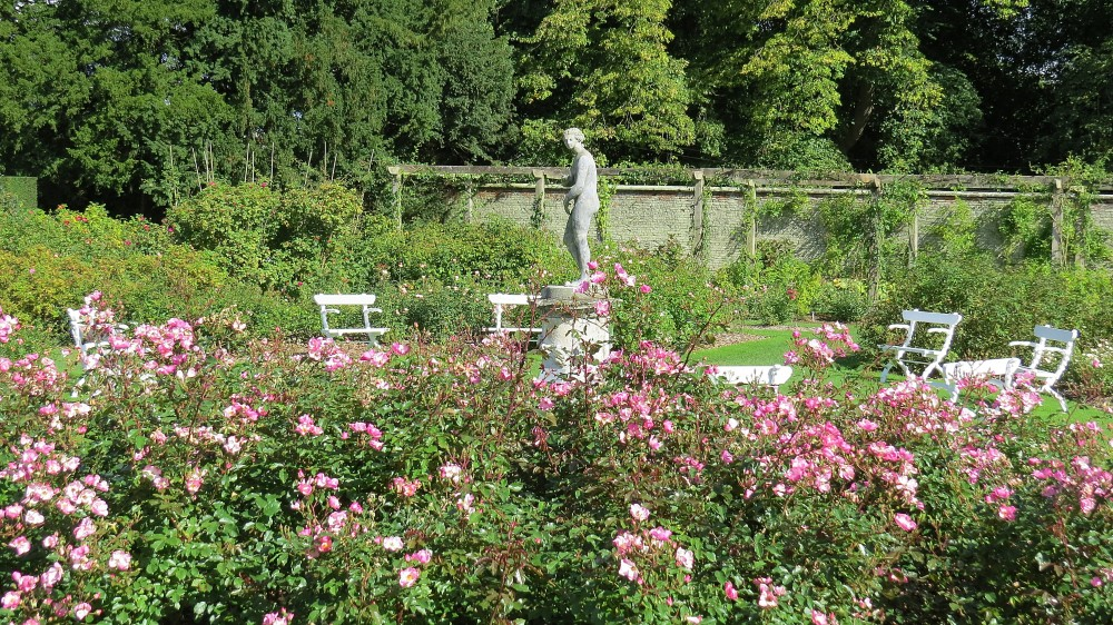 The Walled Rose Garden