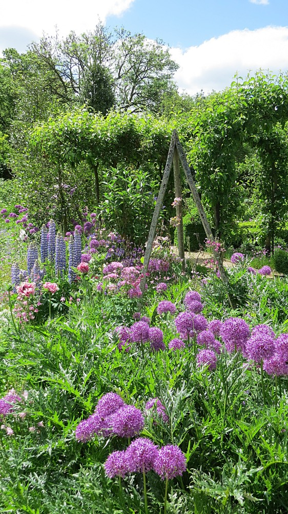 The Walled Garden in Spring