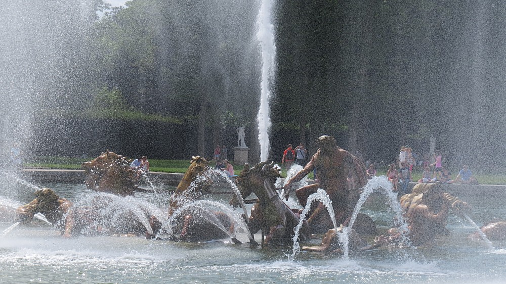 The Fountains of Apollo's Chariot