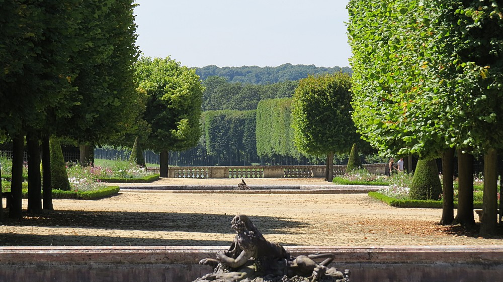 The Grand Trianon - Gardens