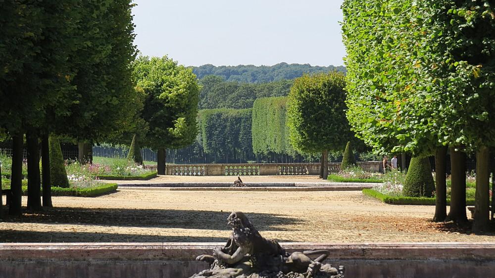 The Grand Trianon - Gardens