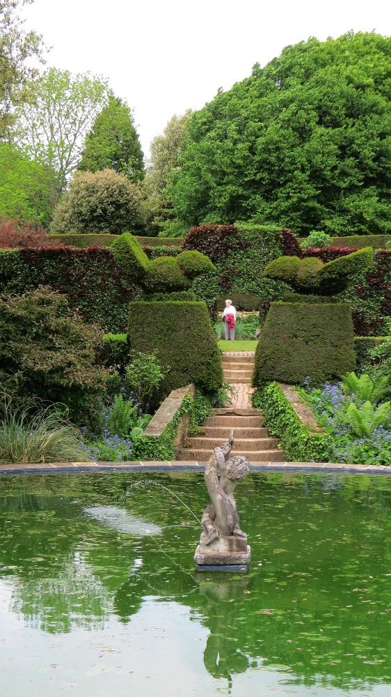 The Bathing Pool Garden from the Fuchsia Garden