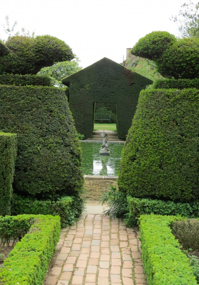 The Bathing Pool Garden looking towards the Fuchsia Garden