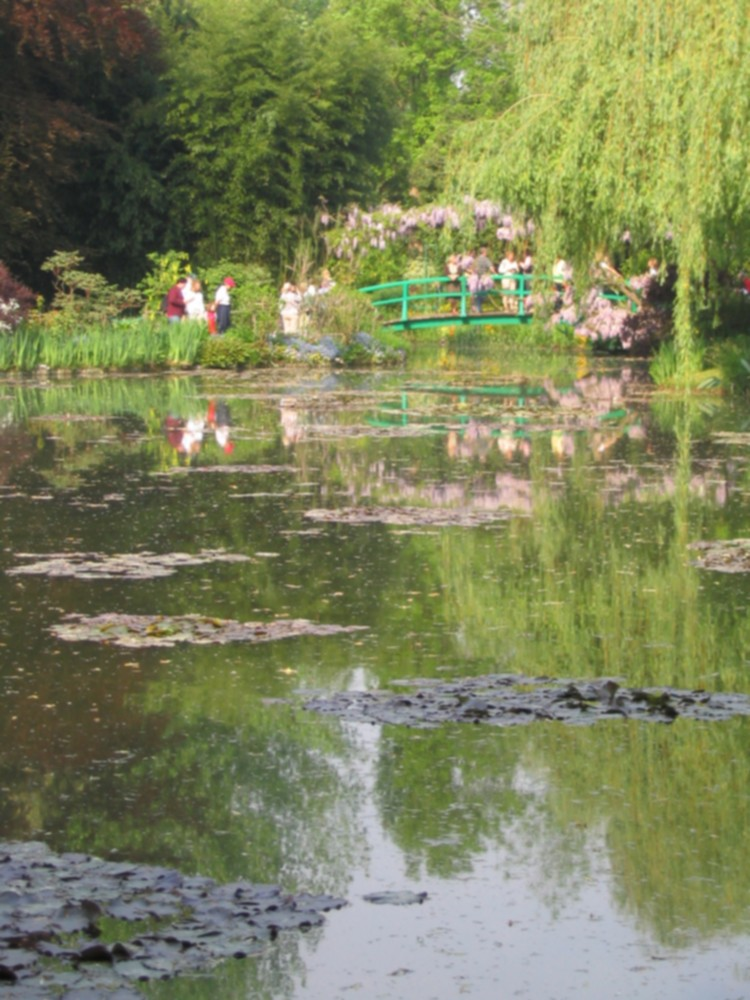 The Water Garden – Japanese Bridge in Spring