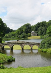 The Palladian Bridge, Lake and Pantheon