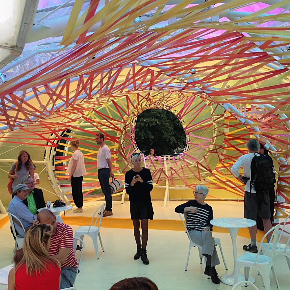: Interior of the Selgascano Pavilion - 2015