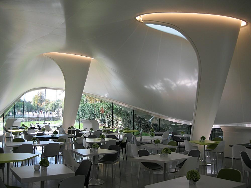 Interior of the Magazine Restaurant