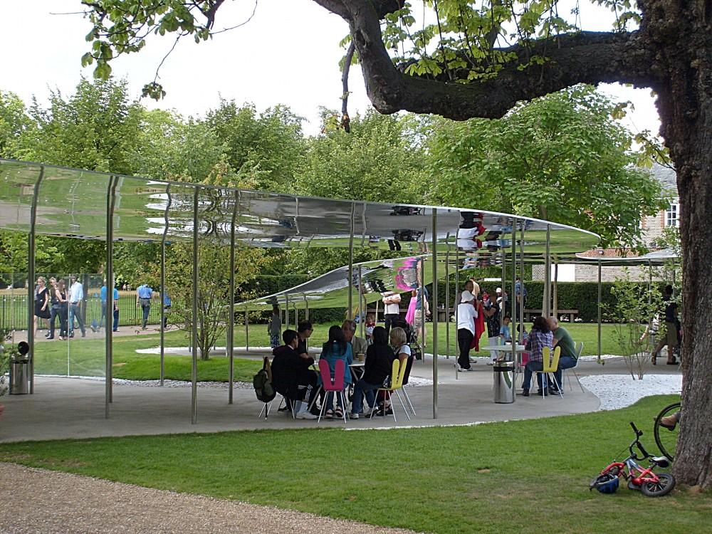 The SANAA Serpentine Pavilion - 2009