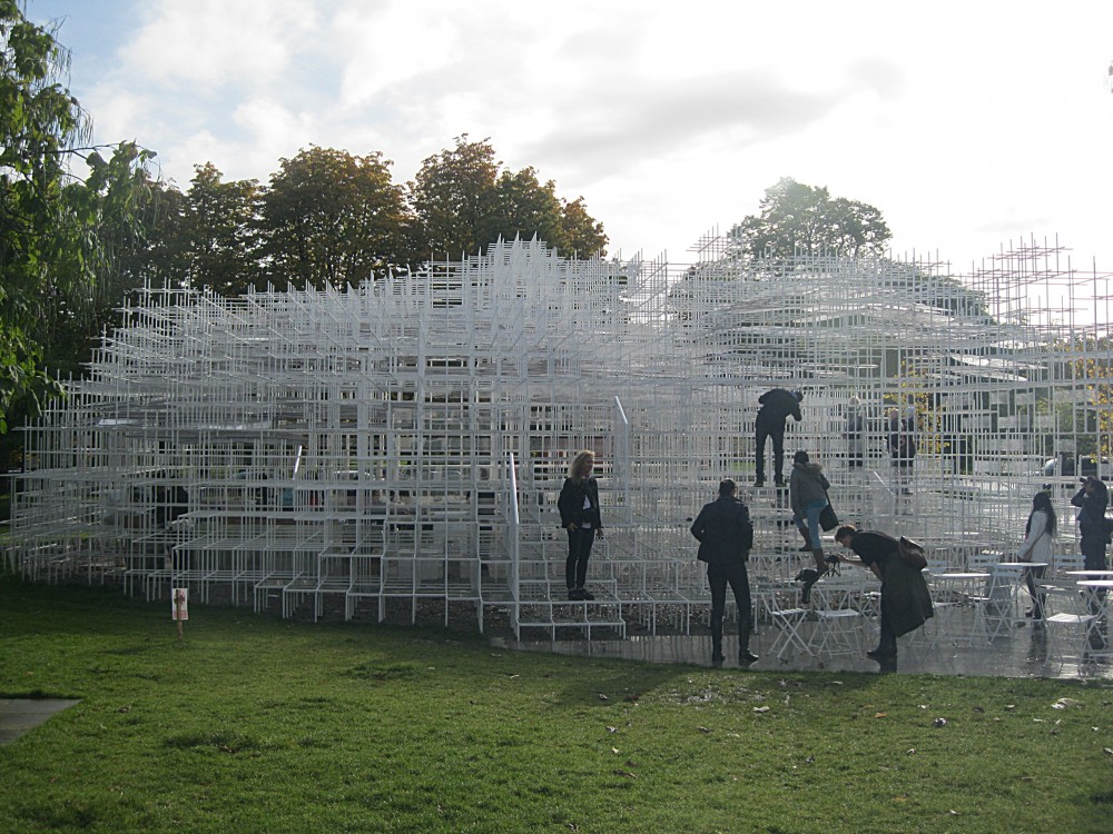 The Cloud Pavilion – Sou Fujimoto - 2013