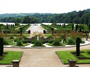 The Parterre and Lake Beyond