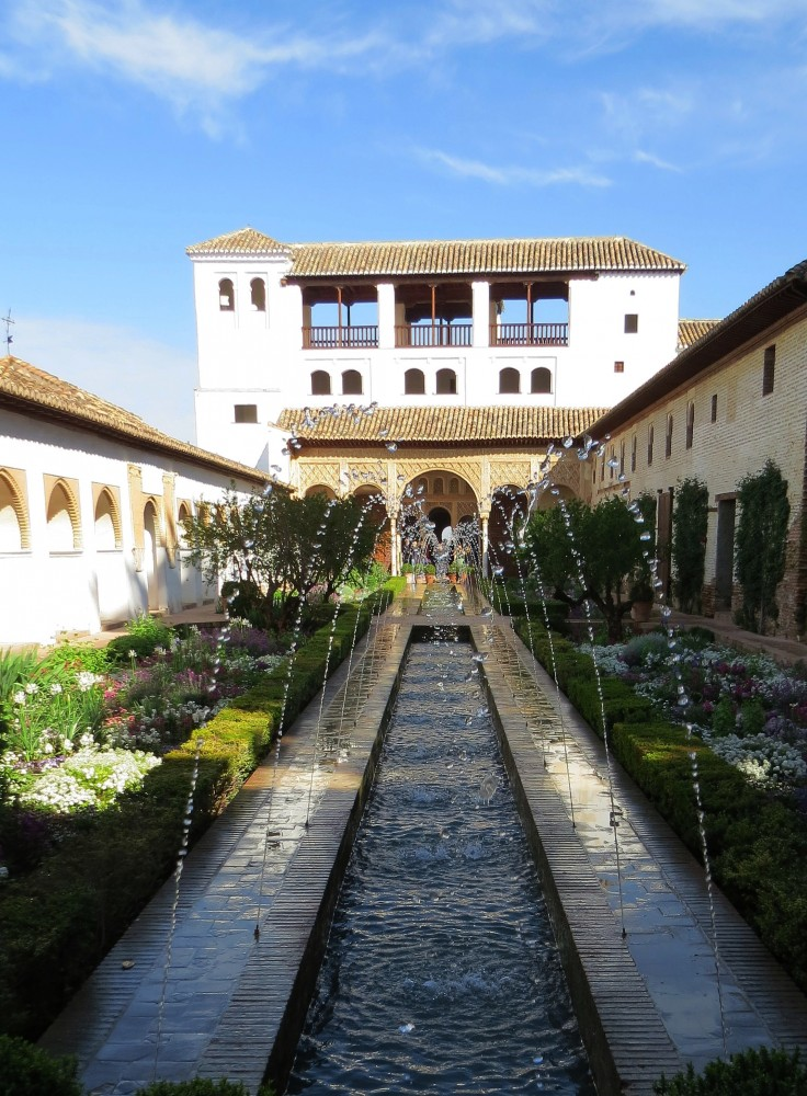 Patio de la Acequia (Court of the Long Pond)