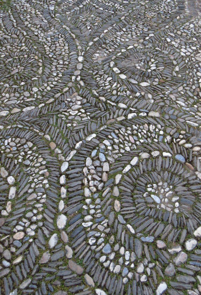 Pebble Paving Detail