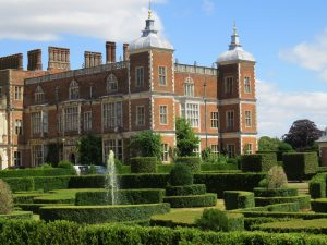 Hatfield House and the private South Garden