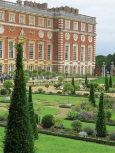 View from Queen Mary's Bower Looking Towards the Palace