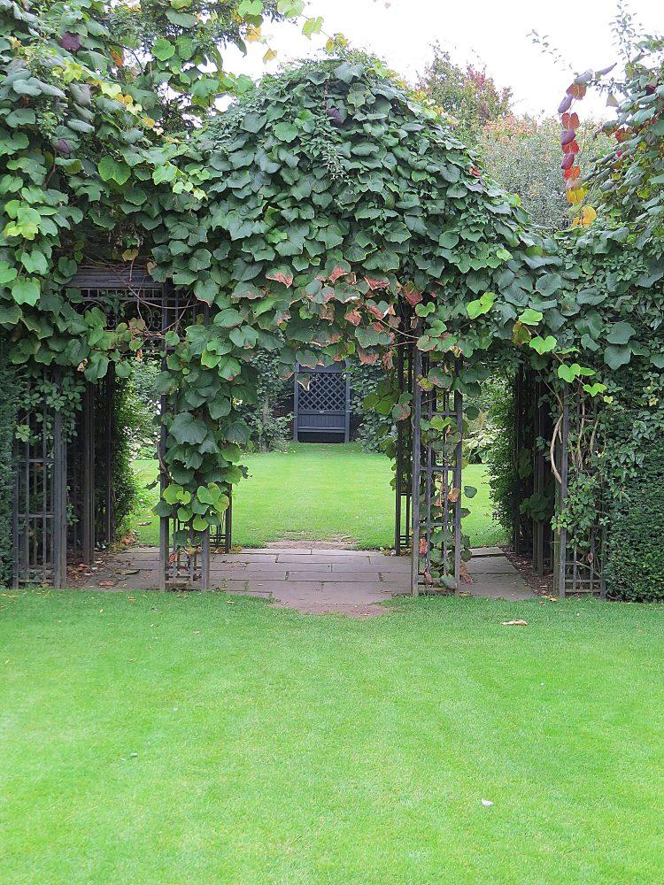 The Arch through to the Oval Garden