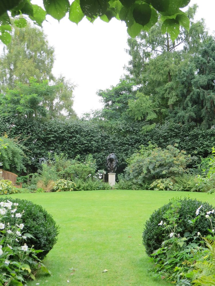 View Across the Oval Garden