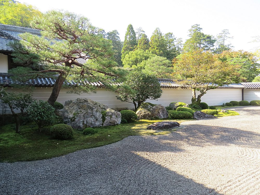 The Zen Dry Garden at Nanzen-ji