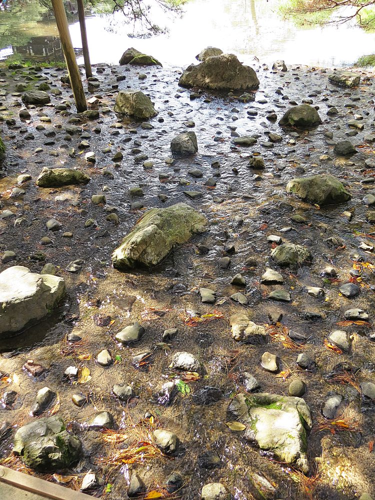 Pebbled Stream Inflow