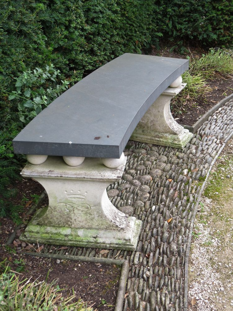The Elliptical Garden – Bench Detail