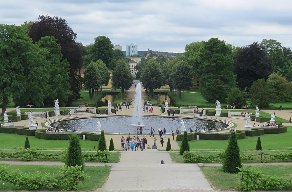 Great Fountain, Parterre and View