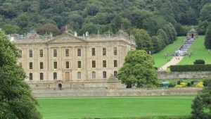 Chatsworth House from the River Derwent