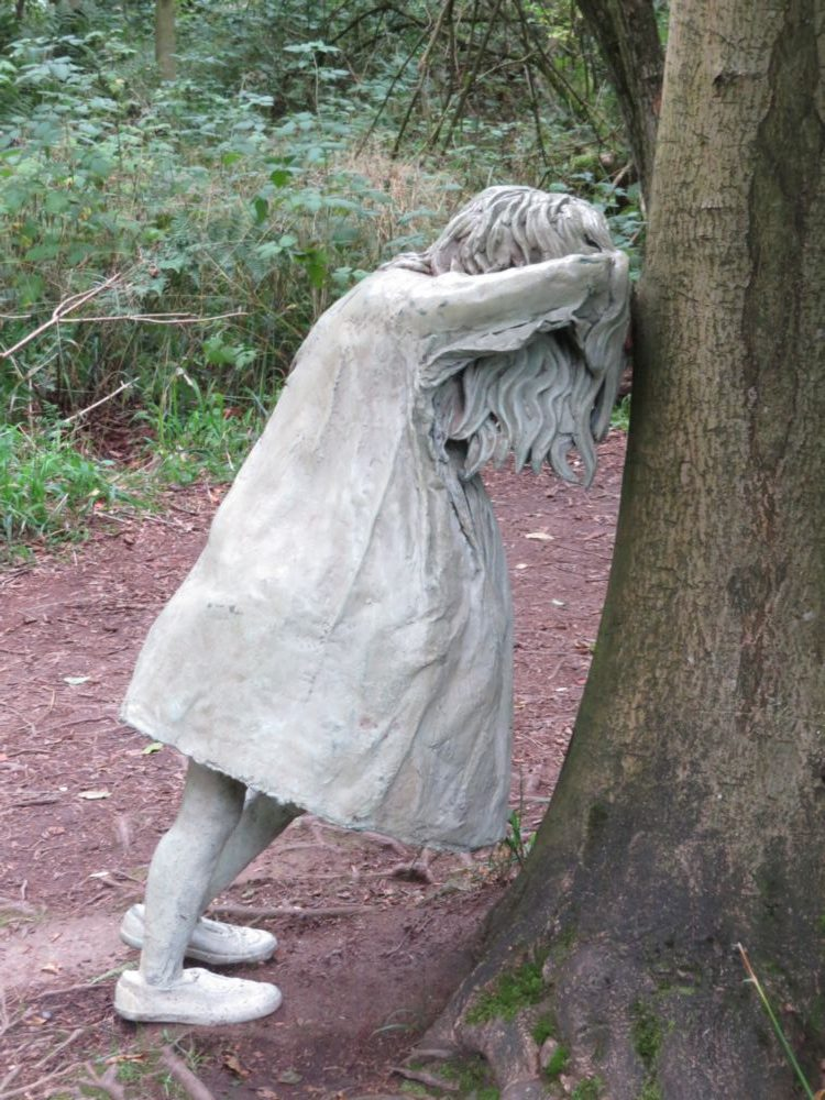 'Weeping Girl' by Laura Ford