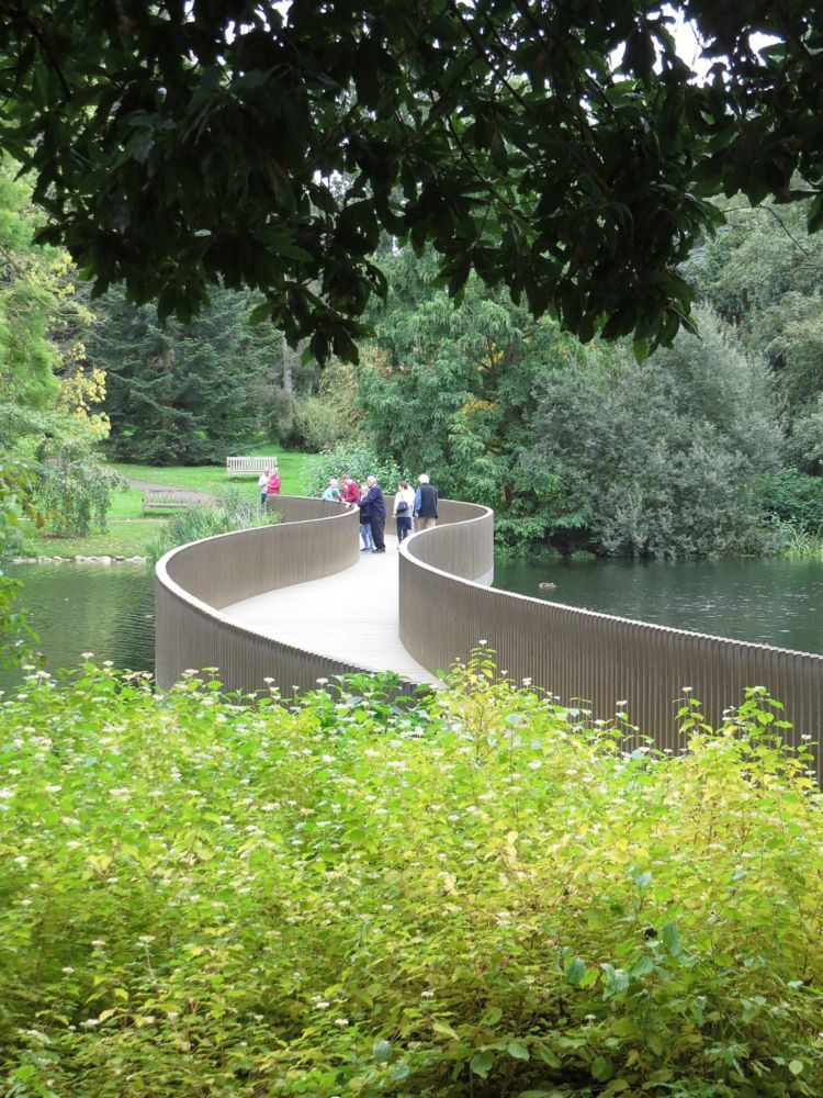 March – The Sackler Crossing, and also the Henry Moore Sculpture and daffodil and crocus plantings