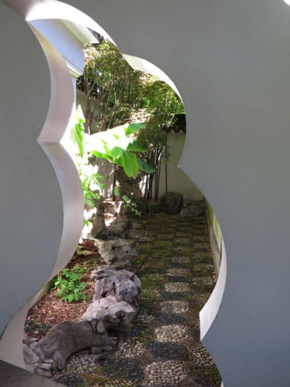 View into Scholar's Courtyard