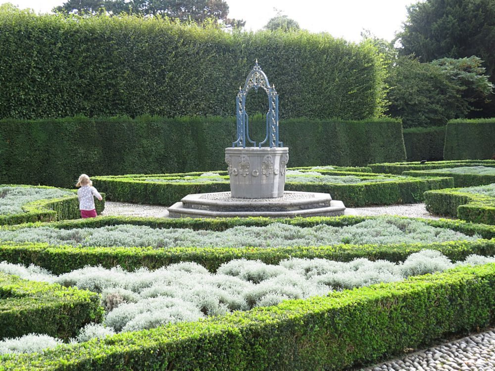 August – The Queen's Garden and Parterre Kew Palace and also the Summer Concert Programme.