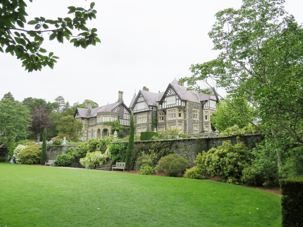 The House and Croquet Terrace