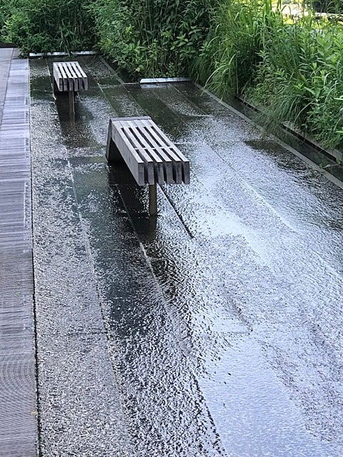 Diller – Von Furstenberg Water Feature