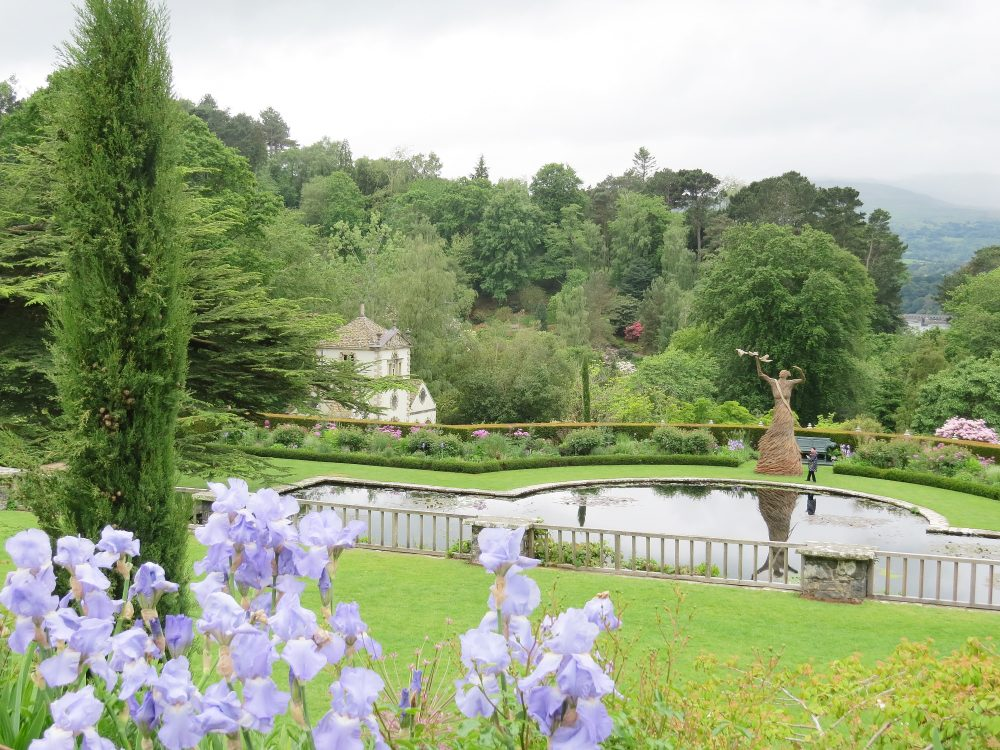 The View from the Upper Rose Terrace over the Croquet, Lily and Lower Terraces