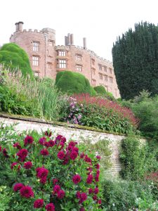 Powis's Exuberant Planting Against the Backdrop of the Castle