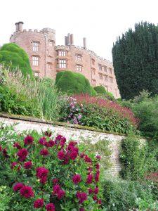 Powis's Exuberant Planting Against the Backdrop of the Castle
